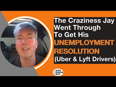 The Craziness Jay Went Through To Get His Unemployment Resolution (Uber & Lyft Drivers)