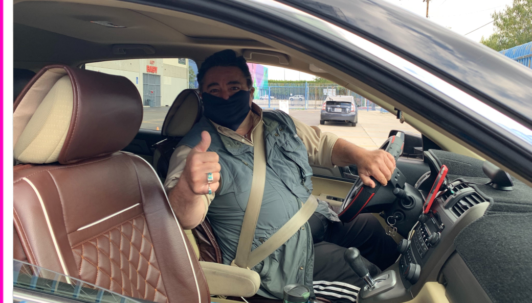 You are now required to wear a face mask with Lyft