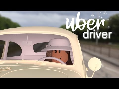 Daily Routine as an UBER Driver| Bloxburg Skit