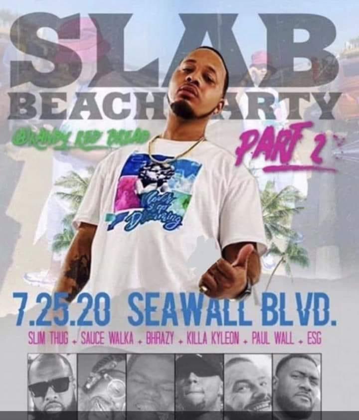Slab Beach Party