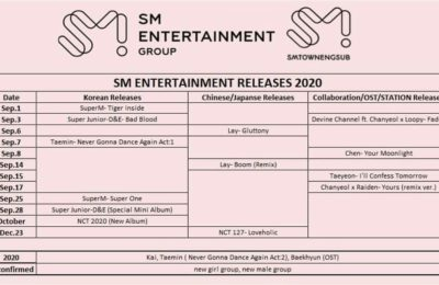 SM Entertainment Confirms NCT Is Preparing To Release New Album