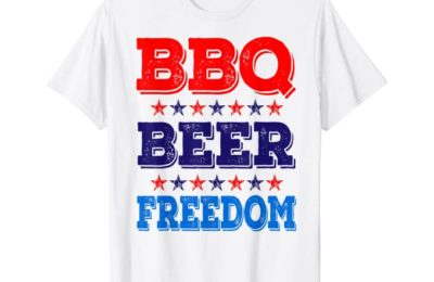 The BBQ BEER FREEDOM shirt is NOW ON AMAZON!