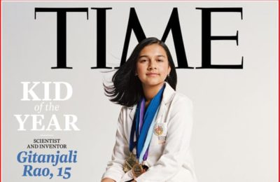 Time Magazine names teenage inventor its first 'kid of the year'