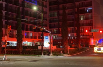 Fire at Memorial Towers Apartments