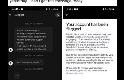 Fact Check: Have hackers infiltrated the Uber app?
